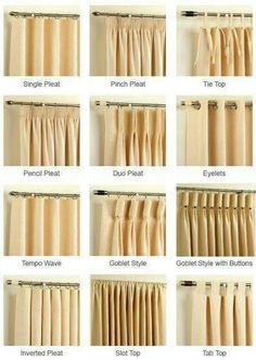 Design Guide: Adding drapes to your decor. How to measure for curtains. Decorating with drapes. Shopping for curtains and curtain hardware. Home Curtains, Curtains Living, Hanging Curtains, Curtains With Blinds, Linen Curtains, Window Blinds, Privacy Blinds, Pinch Pleat Curtains, Patio Blinds
