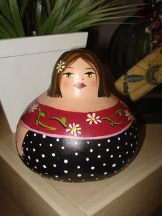 picurrucha pintada em porongo