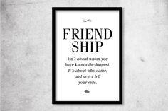 Print Freundschaft // print friendship by Ohkimiko via DaWanda.com