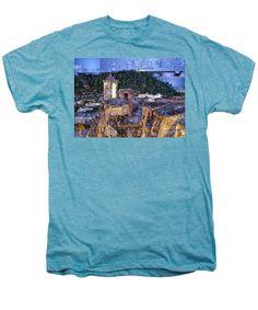 Men's Premium T-Shirt - La Popa Hill Convent And Saint Philip Castle, Cartagena Colombia