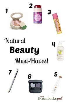 Natural Makeup Brands List - The perfect list for anyone wanting to make the switch