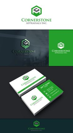 New logo and business card for real estate appraisals by Pencil_Art