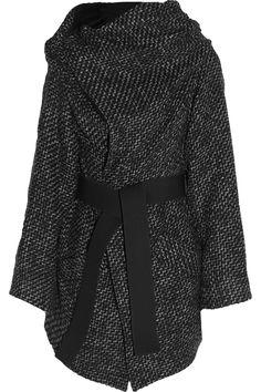 Vivienne Westwood Anglomania FW2014 Talik oversized woven wrap coat. $1330