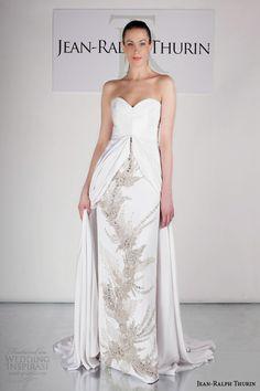 Jean-Ralph Thurin Spring 2015 Wedding Dresses | Wedding Ideas #wedding #weddingideas #weddingdress #bridal #bridaldress