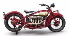 This 1928 Indian 401 Four is estimated to fetch between £65,000 and £70,000 ($95,000 - 100...