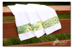 Sugar Bee Crafts: sewing, recipes, crafts, photo tips, and more!: Custom Kitchen Towels