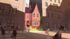 Environment Concept Art, Environment Design, Pixar Concept Art, Mood Colors, Lowbrow Art, Animation Background, Visual Development, Eye Art, Environmental Art