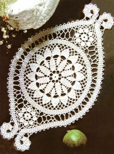 Carpeta tejida con ganchillo con patron