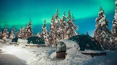 alaska igloo alaska northern lights - Google Search Glass Igloo Northern Lights, Alaska Northern Lights, See The Northern Lights, Glass Igloo Hotel, Free Travel, Winter Scenes, Luxury Travel, Trip Planning, Places To See