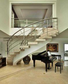 House PS Pupo Gaspar Arquitectos interior staircase