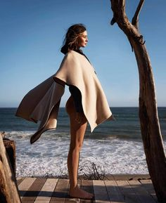 Photography: Jan Welters. Styled by: Jeanne Le Bault.Hair: Teddy Charles. Makeup: Christy Coleman. Manicure: Kim Truong.Model: Miranda Kerr.