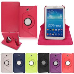 Mobile Extra Ltd | Rakuten.co.uk Shopping: MobileExtraLtd® Leather 360 Degree Rotating Smart Stand Case Cover For Samsung Galaxy Tab 3 7.0 SM-T210 P3200 P3210  MobileExtraLtd® Leather 360 Degree Rotating Smart Stand Case Cover For Samsung Galaxy Tab 3 7.0 SM-T210 P3200 P3210: SAMTABP3200PLN360CASE from Mobile Extra Ltd | Rakuten.co.uk Shopping