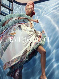 #EmilioPucci | Spring Summer 2018 Ad Campaign
