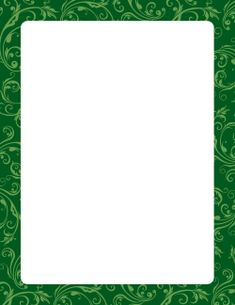 Floral Pattern Border 5