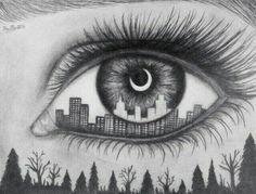 誰ともかぶりたくなり方必見個性的な 目ネイル で皆の視線くぎづけ
