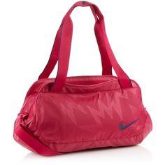 Nike pink Legend sports bag ($44) ❤ liked on Polyvore
