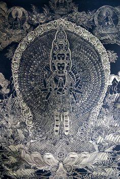 Avalokitesvara- Lord of Compassion. Companion to Tara. Jainresig