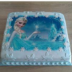 . Elsa Birthday Cake, Frozen Themed Birthday Party, Frozen Party, Birthday Cake Toppers, 2nd Birthday Parties, Disney Cars Cake, Frozen Theme Cake, Elsa Cakes, Pony Cake