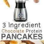 Chocolate Protein Pancakes