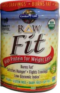 Raw Fit Marley Coffee Flavor by Garden of Life