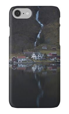 iPhone Cases & Skins River that vanishes by josemanuelerre