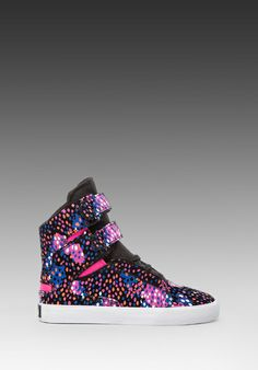 a522fc515be5 Shop for Supra Society Sneaker in Pink   Blue   White at REVOLVE.