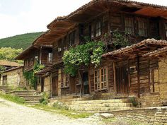 Zheravna, traditional Bulgarian architecture
