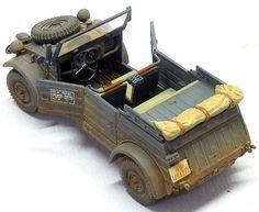 Kubelwagen by Tony Bell (Tamiya 1/48)