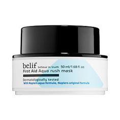 belif - First Aid Aqua Rush Mask #sephora