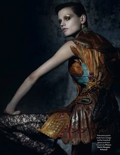 saskia de brauw | another magazine fall 2012 | by ruth hogben