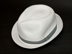 B/W Stripe Straw Hat White S01 Panama Hat, Hats, How To Wear, Shopping, Hat, Panama