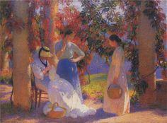Galeria I – Pintores do Pós – Impressionismo!   Artes & Humor de Mulher