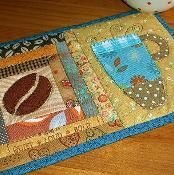 Skinny Latte Mug Rug - via @Craftsy Great Christmas gift ideas to make!!