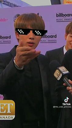 Bts Aegyo, Bts Jimin, Namjoon, Taehyung, Bts Bg, Funny Interview, Bts Funny Videos, Crazy Kids, Bts Playlist