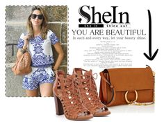 """""""shein contest set"""" by alema1234 ❤ liked on Polyvore featuring WithChic and Chloé"""