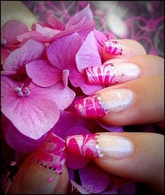 French Manicure Nail Art Design