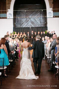 Brooklyn Arts Center Wedding   by www.kmiphotography.com  Wilmington NC weddings. Wilmington NC wedding photos