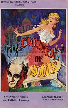 """Scary movie - this one freaked me out when I was a child - """"Carnival of Souls"""""""