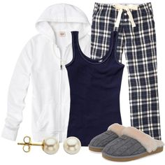Pajama Party, created by qtpiekelso on Polyvore