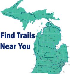 Rails to Trails.Michigan is second in the country with over 2000 miles of trails! The Polly Ann Trail being 35 of those miles! Michigan Vacations, Michigan Travel, State Of Michigan, Grand Rapids Michigan, The Mitten State, Bike Trails, Hiking Trails, Hiking Gear, Biking