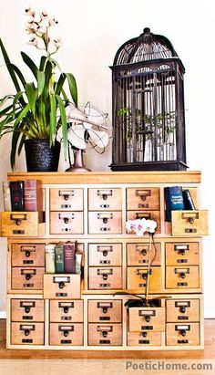 Going to have to re-learn the Dewey Decimal system so I can organize all my stuff with this card catalog.