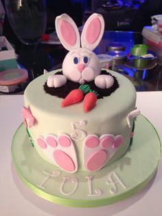 Easter Bunny Birthday cake