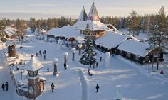 Le Cercle Arctique en Finlande