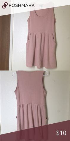 Skater Dress Pink; Skater dress; worn once; pockets , comfortable Forever 21 Dresses Mini