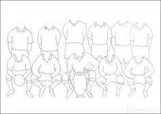 Tekenen en zo: Klasse elftal