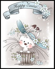 Hi everyone, Two more designs have been just added to Wee Stamps collection. Bonnie bunny and Sweetie are now available as digital stam...