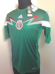 84f4e063beb Adidas mexico soccer jersey sz small 38-40 mens 2014 home world cup new $90