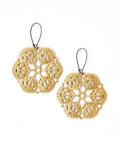 This Gold Aztec Star Drop Earrings is perfect! #zulilyfinds