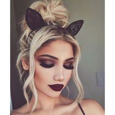 Halloween Makeup ❤ liked on Polyvore featuring beauty products, makeup and hair