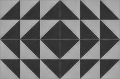 Oblique Cement Tile Expanded Pattern